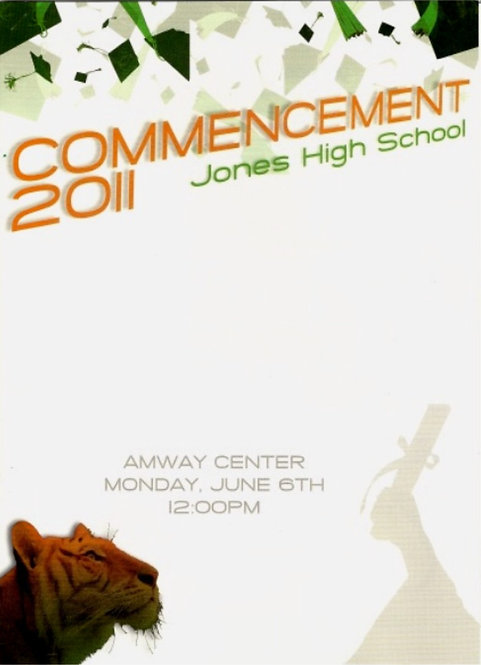 Jones High School 2011 Graduation
