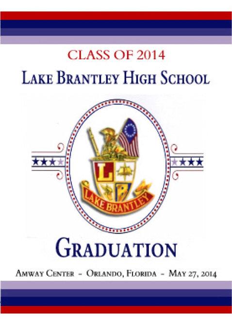Lake Brantley High School '14 Grad