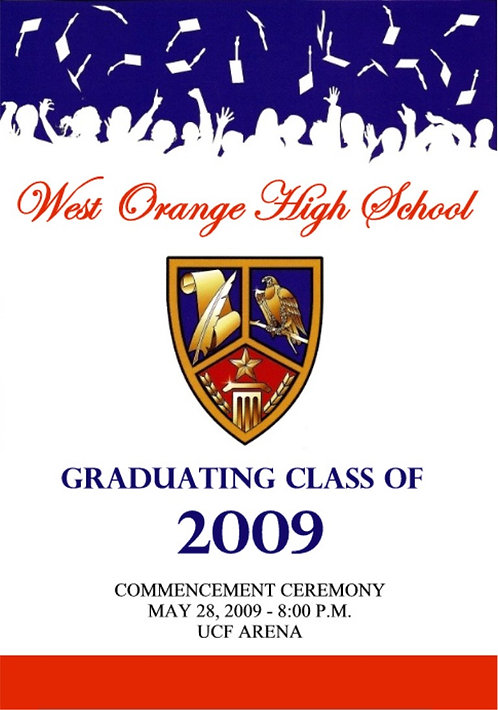 West Orange High School 2009 Graduation