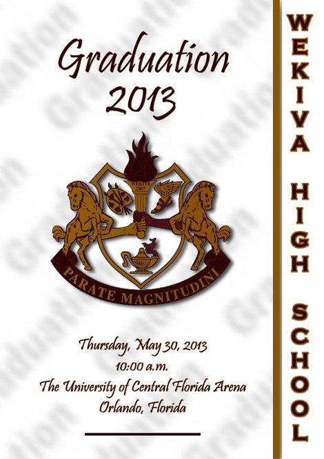 Wekiva High School 2013 Graduation