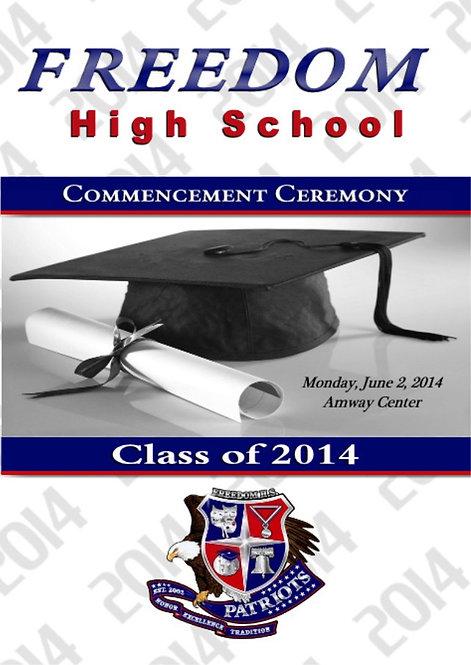 Freedom High School '14 Grad
