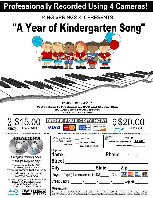 King Springs ES Kindergarten - 03/09/17
