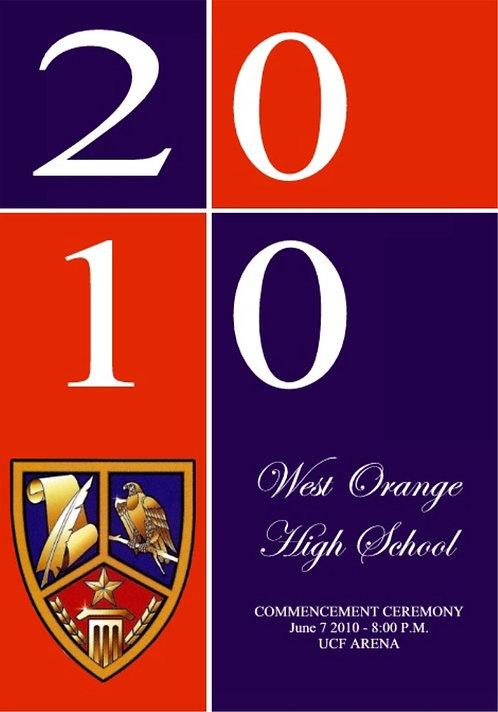West Orange High School 2010 Graduation
