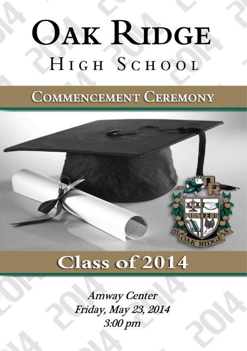 Oak Ridge High School '14 Grad