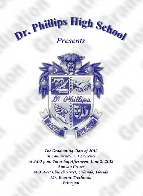 Dr. Phillips High School 2012 Graduation