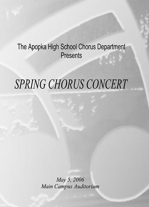 Apopka High School Chorus - 5/2006