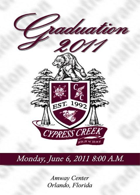 Cypress Creek High School 2011 Graduation