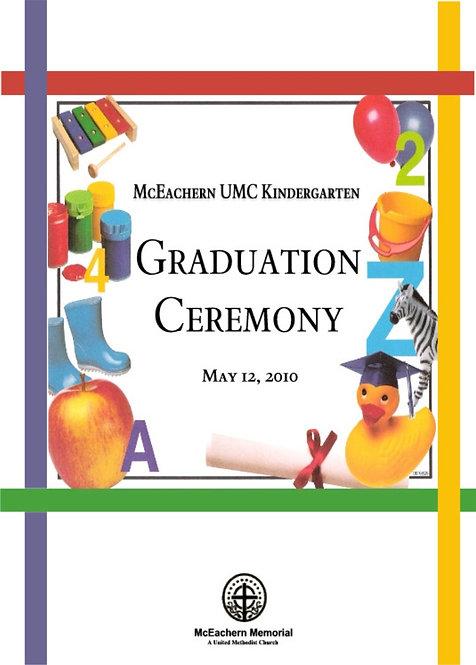 McEachern UMC Kindergarten Grad - 5/2010