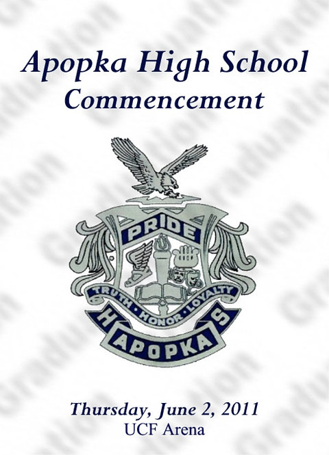 Apopka High School 2011 Graduation