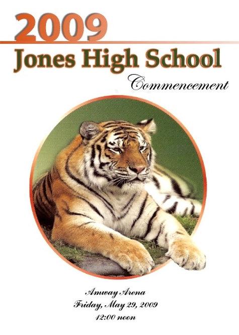 Jones High School 2009 Graduation