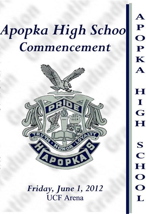 Apopka High School 2012 Graduation