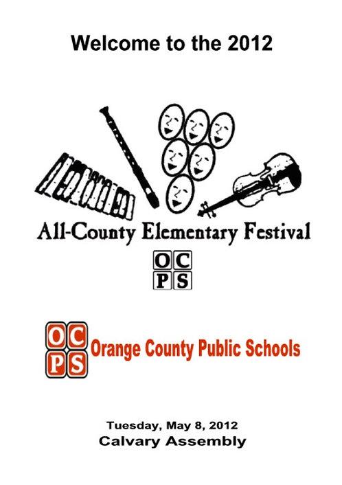 OCPS Music Festival - 5/2012