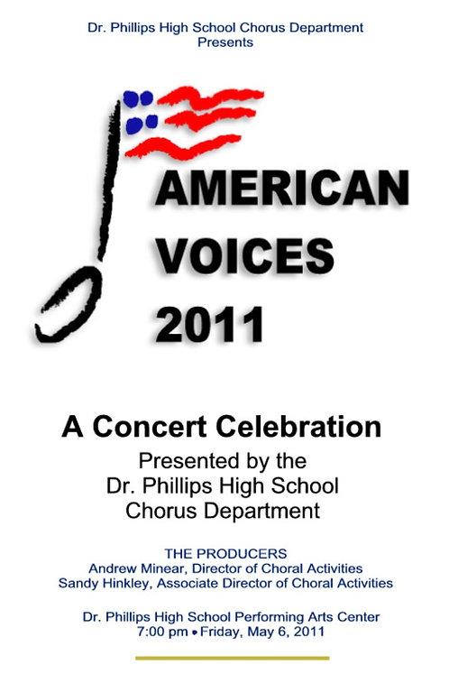 Dr Phillips High School Chorus - 5/2011