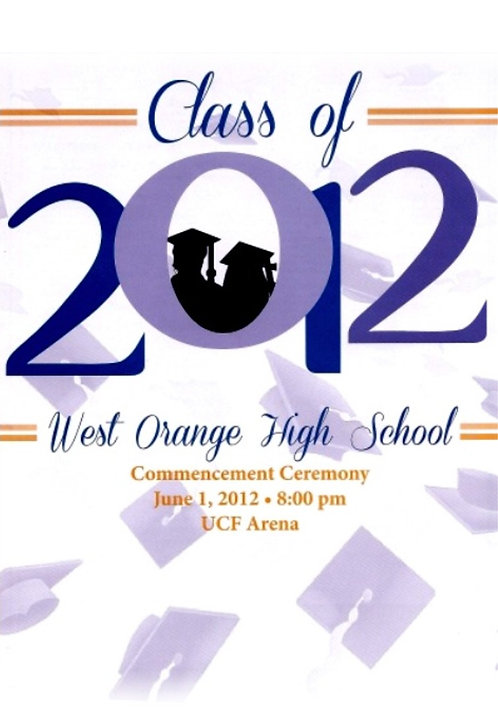 West Orange High School 2012 Graduation