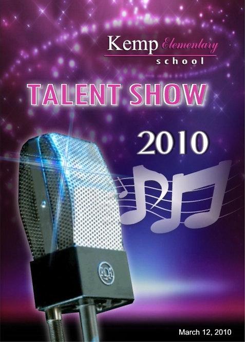 Kemp Elementary School Talent - 3/2010