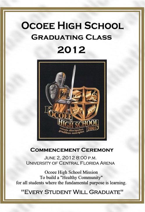 Ocoee High School 2012 Graduation