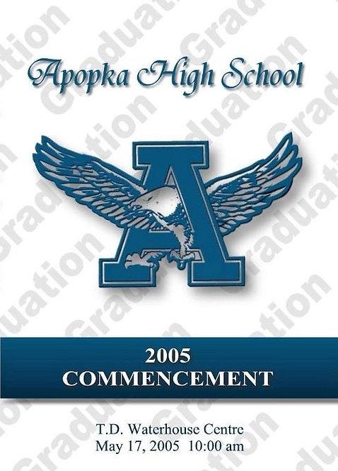 Apopka High School 2005 Graduation