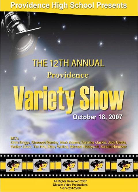 Providence High School - 10/2007