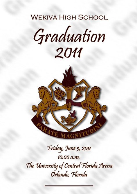 Wekiva High School 2011 Graduation