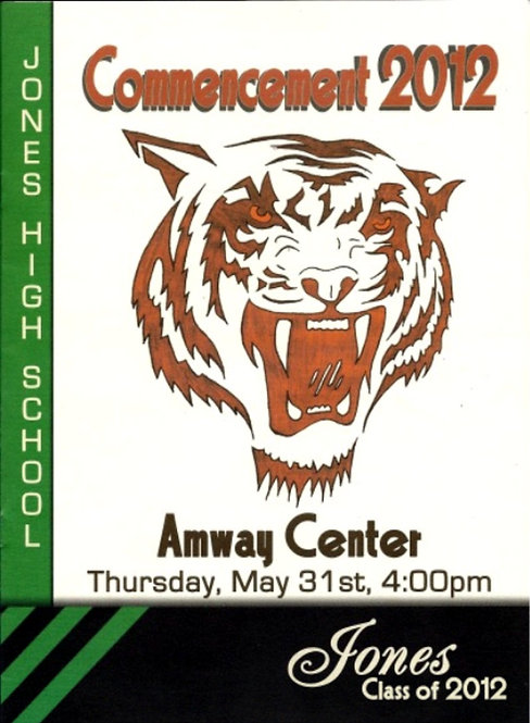Jones High School 2012 Graduation