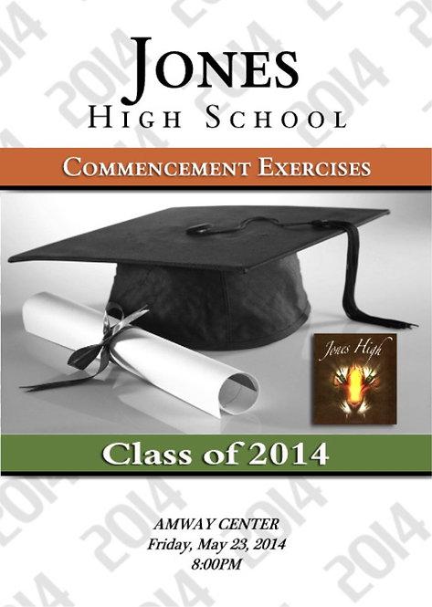 Jones High School '14 Grad