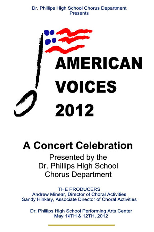 Dr Phillips High School Chorus - 5/2012