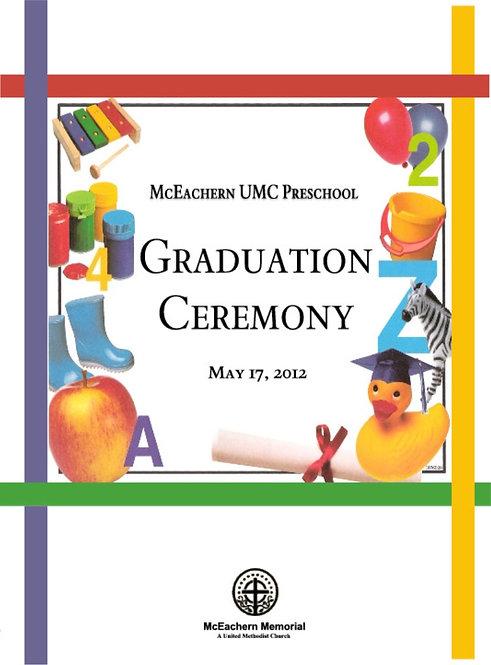 McEachern UMC Preschool Grad - 5/2012