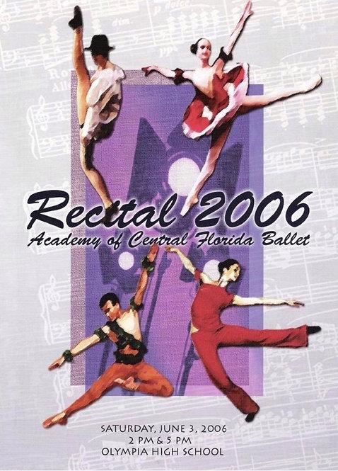Central Florida Ballet - 6/2006