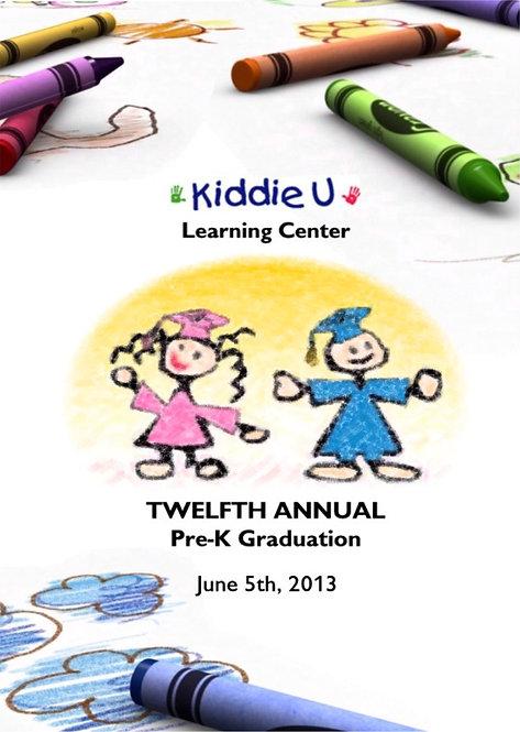 Kiddie U Learning Center - 6/2013
