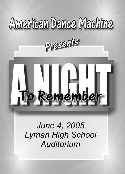American Dance Machine - 6/05