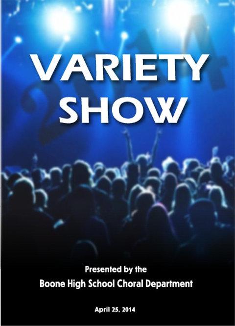 Boone High School Variety - 4/2014