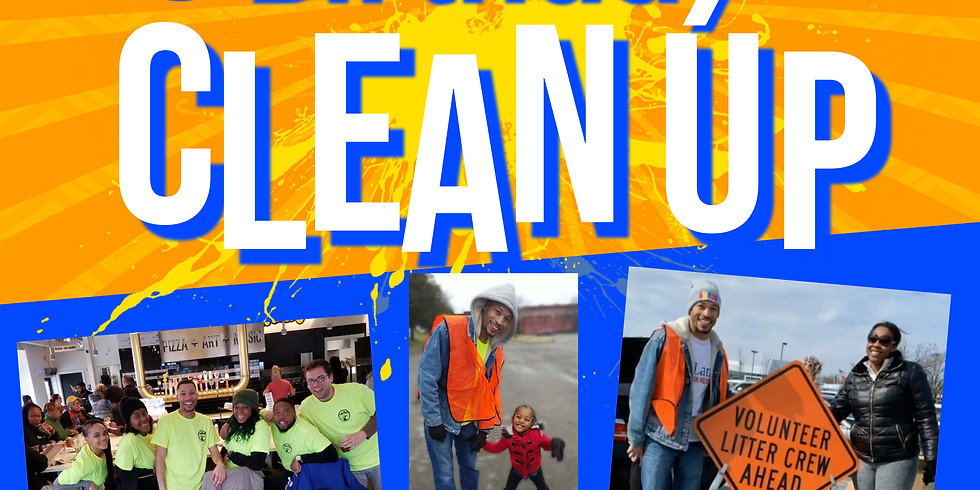 3rd Annual Bday Clean Up