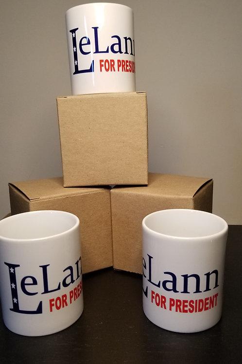 LeLann For President Mug