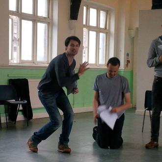 Petworth Plays rehearsal