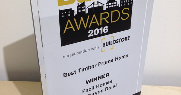 Build It Awards 2016 winner!