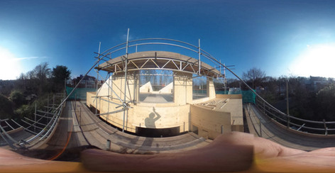 360° – Bringing the site to the studio