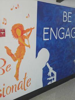 Cochrane elementary mural