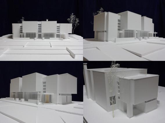 札幌彫刻美術館スタディ模型