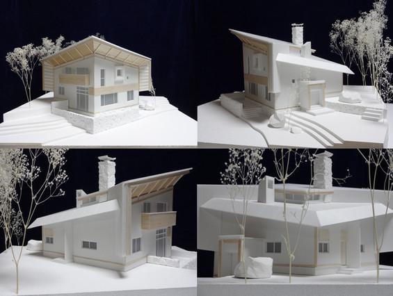 本郷新春香山荘スタディ模型
