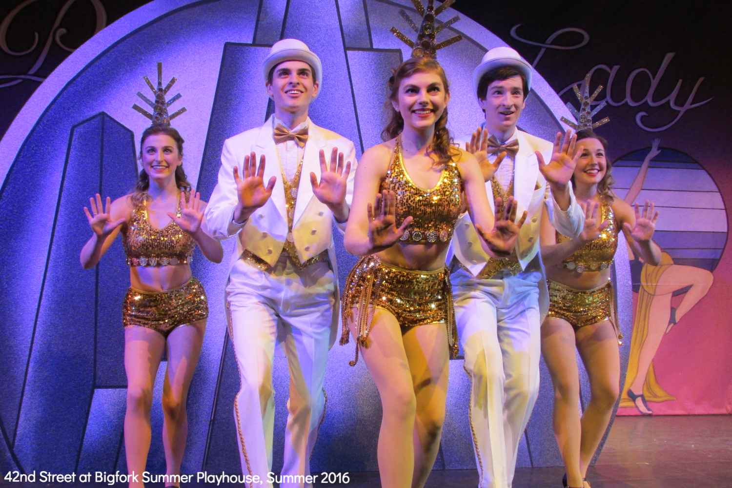Tap Ensemble in 42nd Street