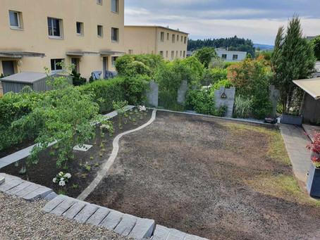 Gartengestaltung mit Drainage