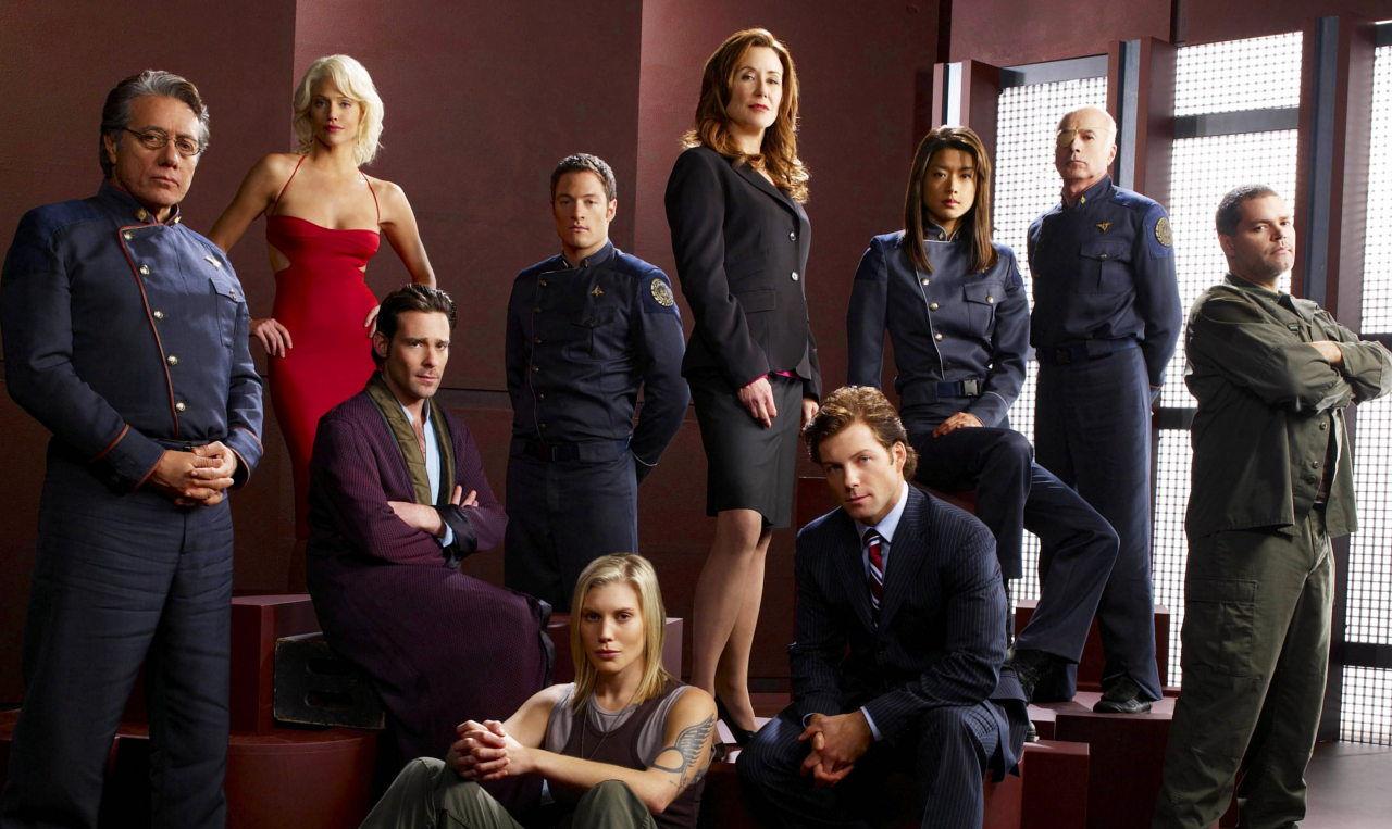 Battlestar Galactica Cast