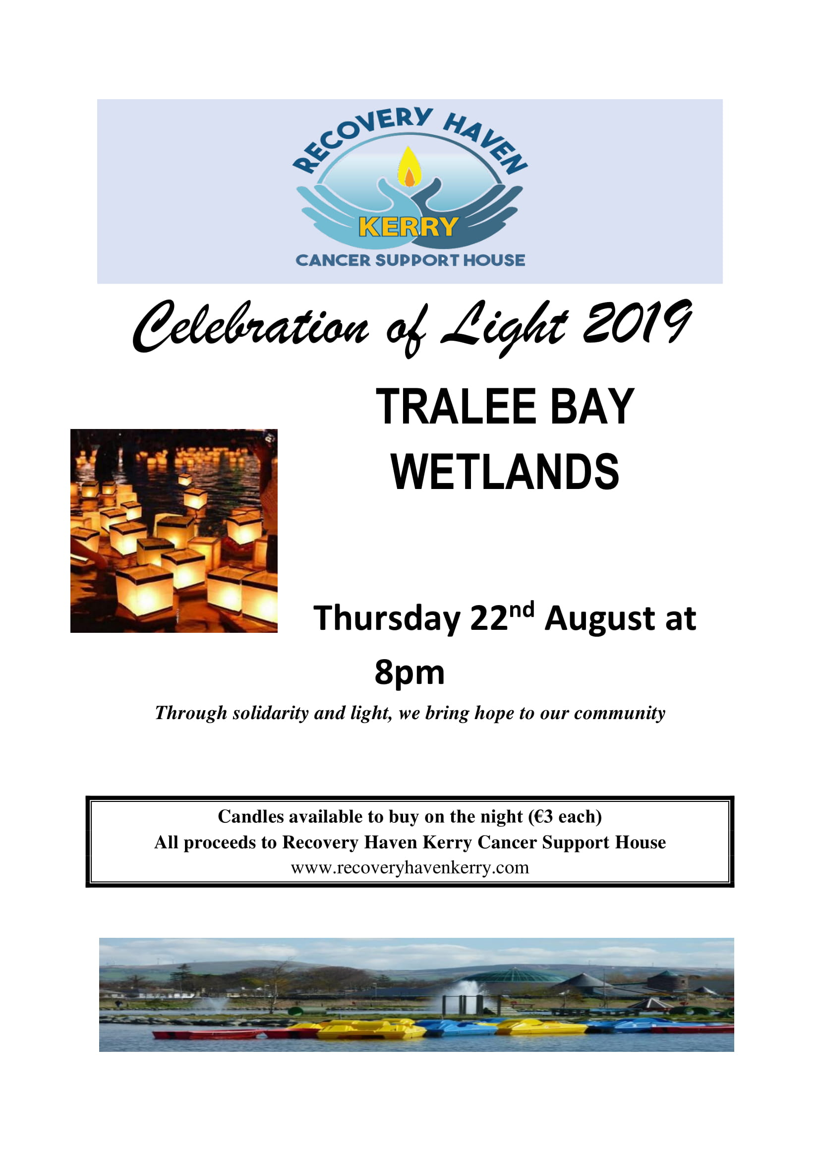 Wetlands 2019 Thurs 22nd August at 7