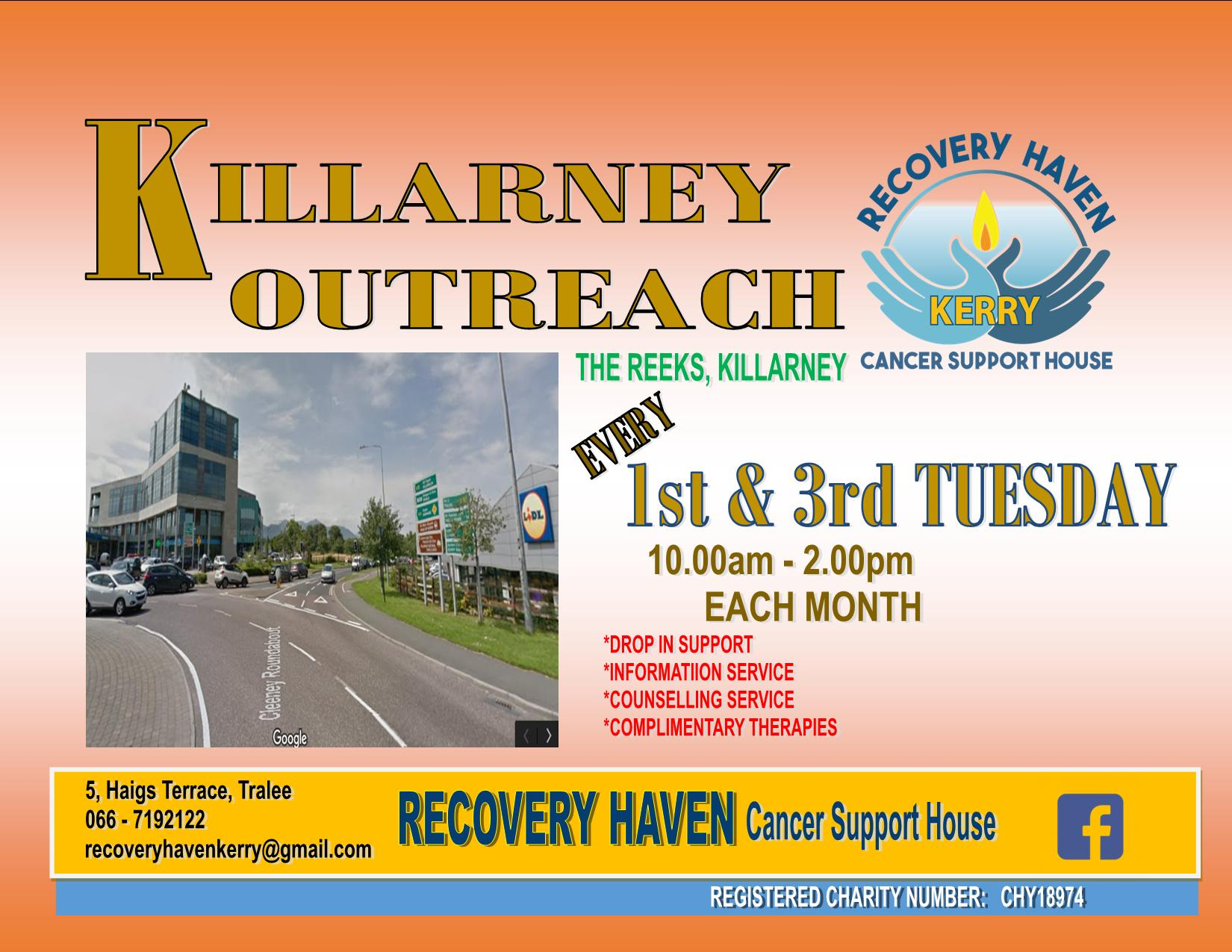 Join us at killarney outreach