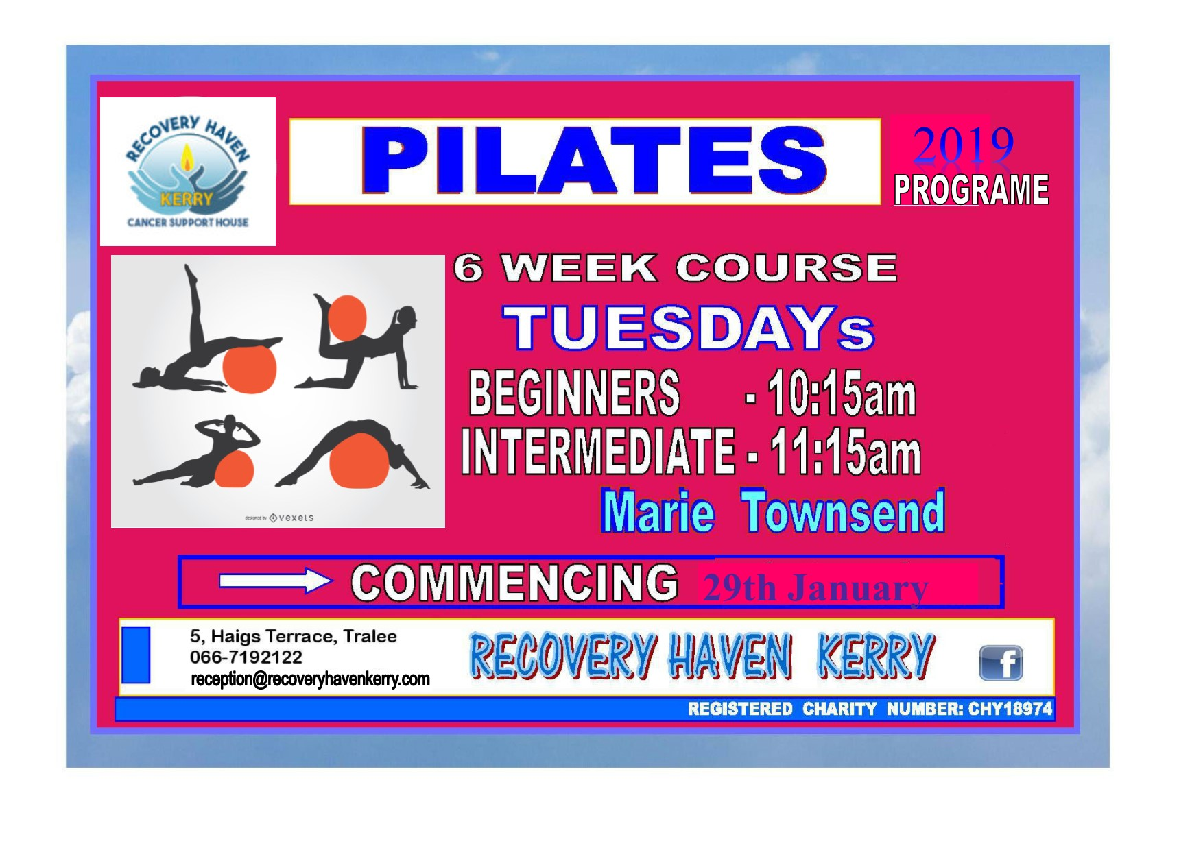 Pilates 2019 poster