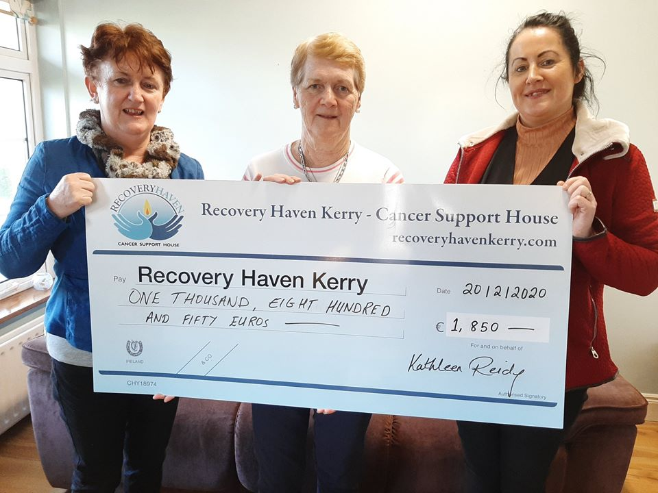 Kathleen Reidy raises an amazing amount