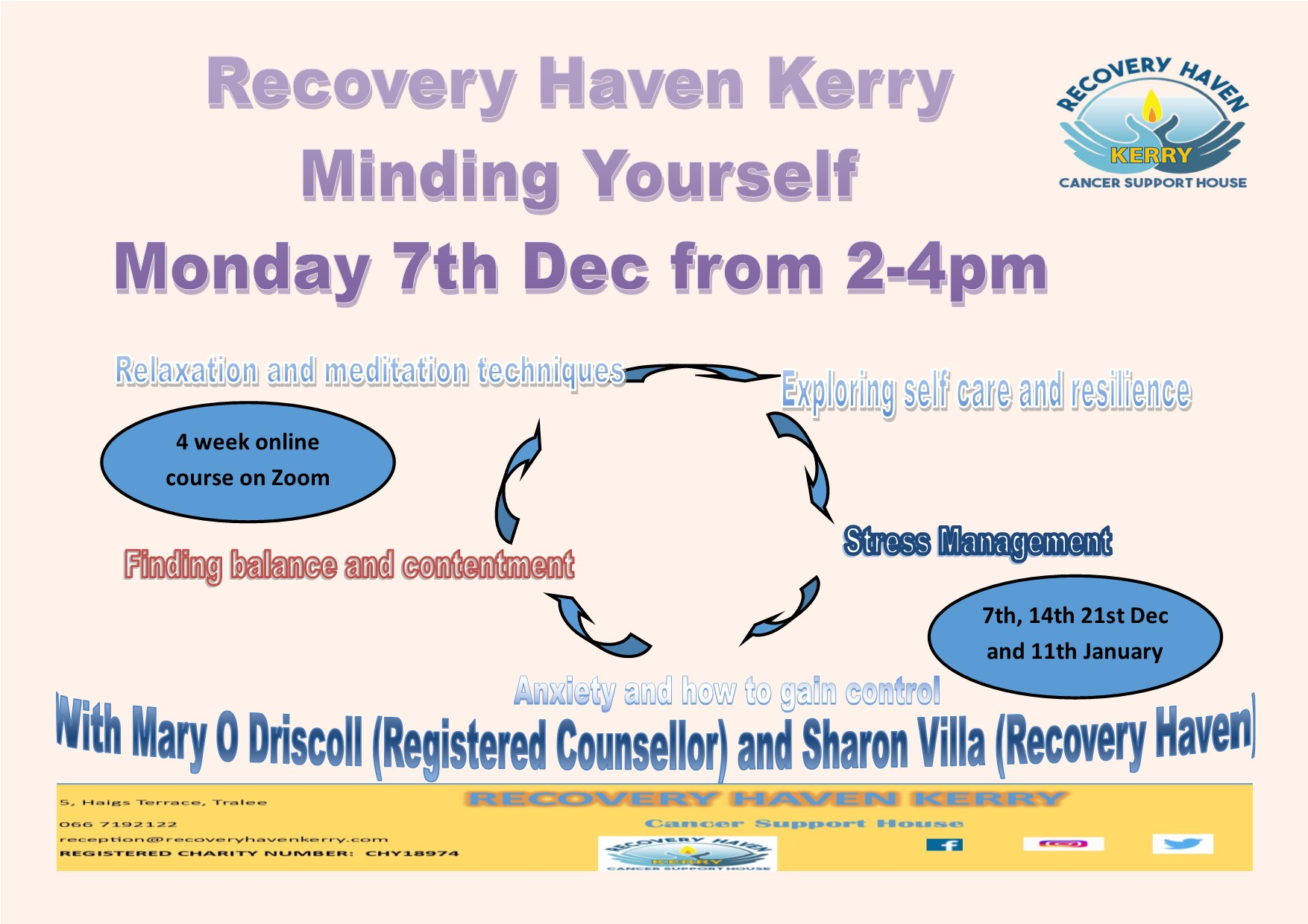 Minding Yourself course