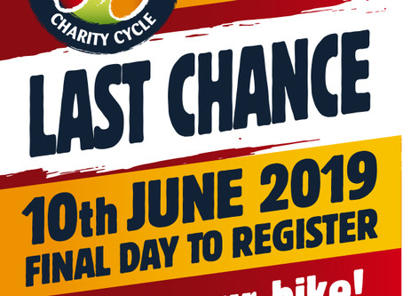 Deadline is fast approaching for Registration!