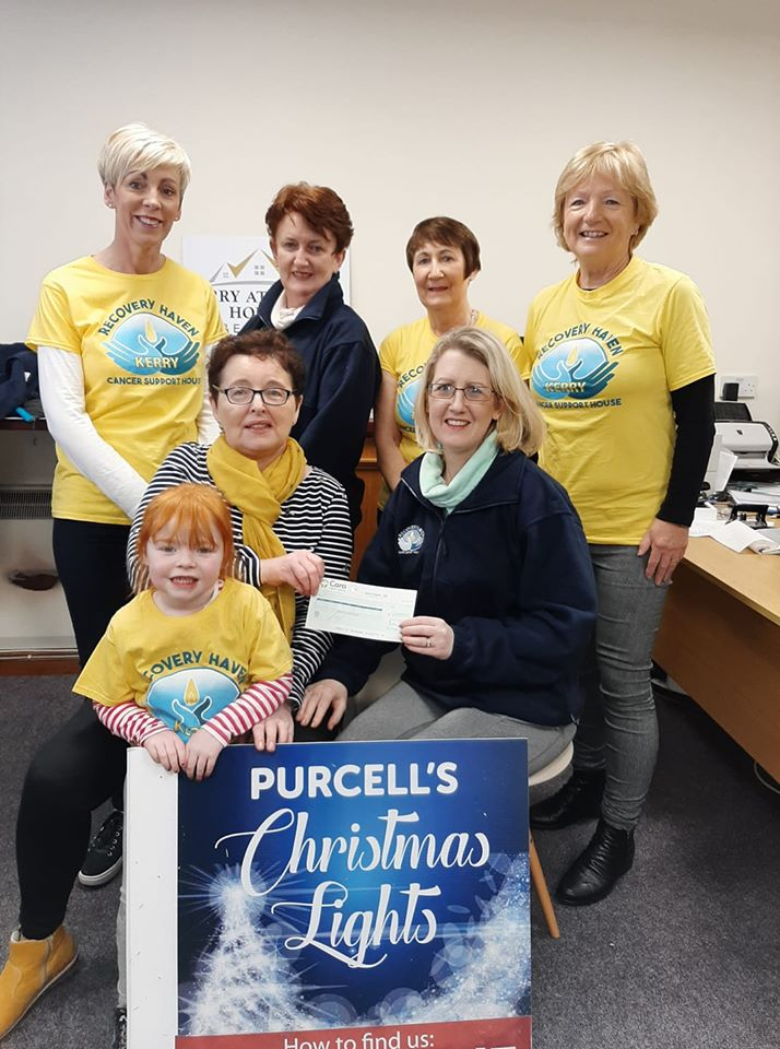 Purcells Lights Cheque Presentation