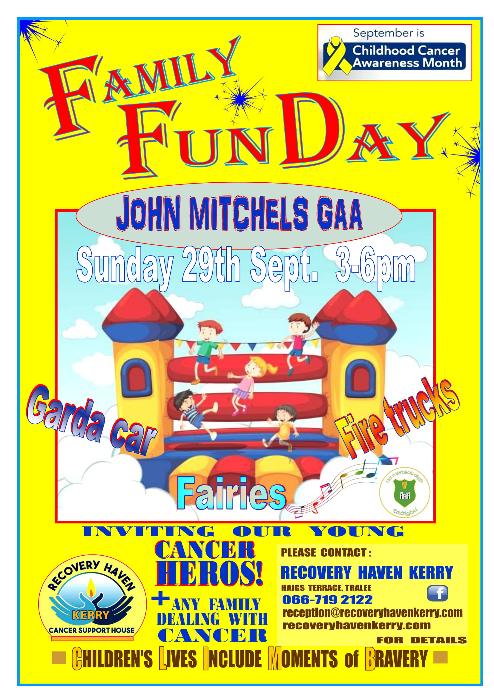 Little Heros Fun Day at Mitchels Gaa Gro